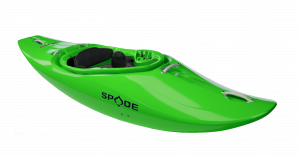SPADE Kayaks Bliss 2021, the new play the river machine