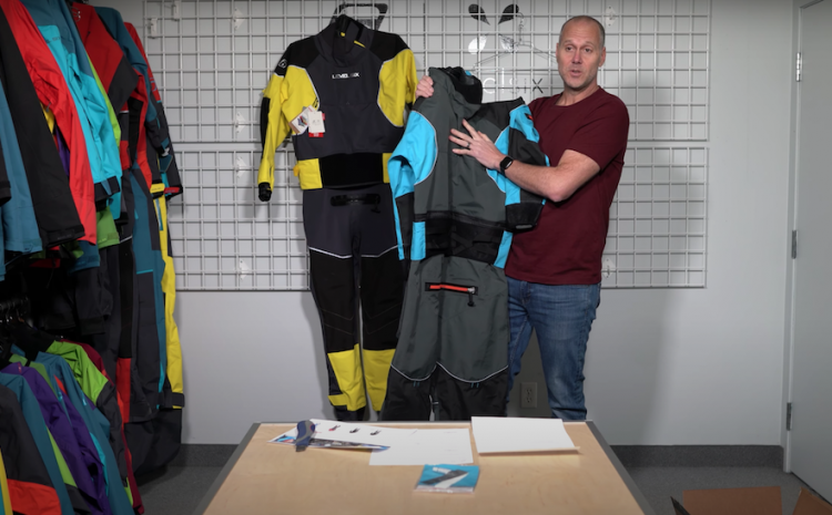 INDUSTRY NEWS: LEVEL SIX OWNER STIG LARSSON UNBOXING COUNTERFEIT DRY SUIT FOUND ON AMAZON