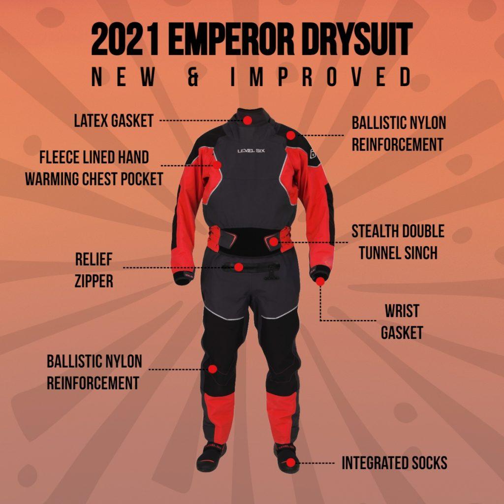 2021 Emperor Drysuit Level Six