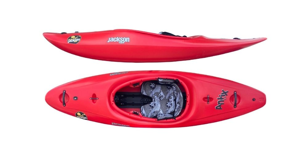 antix 2.0 by jackson kayak half slice kayak