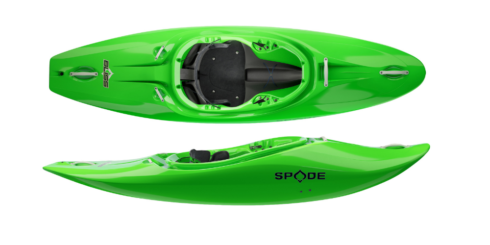 bliss by spade kayaks half slice boat