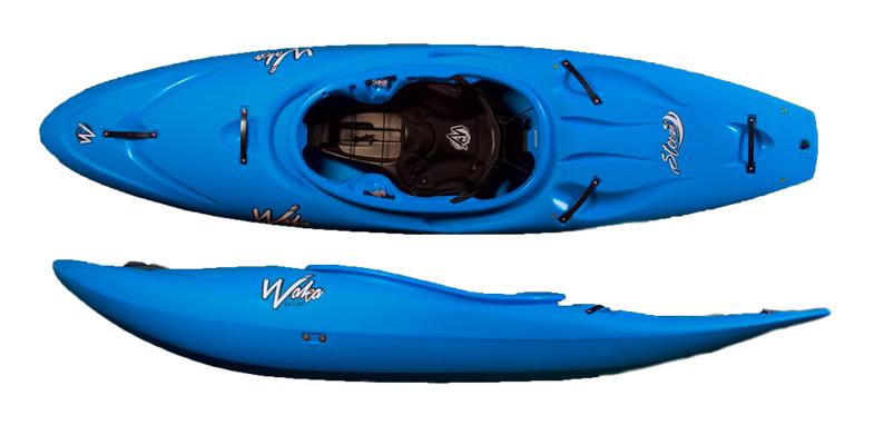 steeze waka kayaks half slice creeker boat