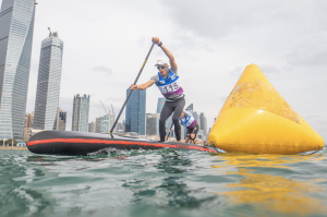 The largest stand up paddling world championships ever held gets underway in Hungary on Thursday, with more than 480 athletes from 50 countries set to compete in the International Canoe Federation titles in Balatonfured.