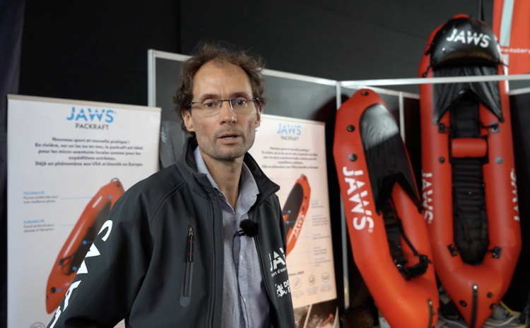 Inside the paddlesports show: Jaws Packraft