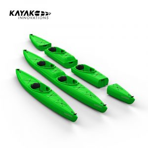 The idea of a modular kayak that can be stored in a space-saving way, transported in the boot and assembled in a few seconds is not new. And it is good. In fact, it's so good that it's worth thinking about how to improve such a boat. So on the evening of that fantastic day of paddling, we just talked shop for a bit... and suddenly we had an idea, a challenge that was never to leave us! The main driving force behind the idea were questions that arose from the experiences of dealers and active paddlers: